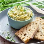 Homemade Parmesan Chive Butter