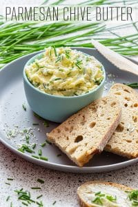 Parmesan Chive Butter Recipe