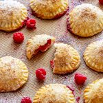 Homemade Raspberry Hand Pies
