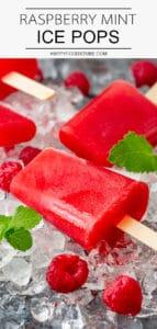 Refreshing Raspberry Mint Ice Pops Recipe