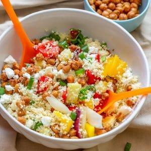 Homemade Summer Vegetable Couscous Salad