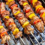 Grilled Tender Turkey Kabobs