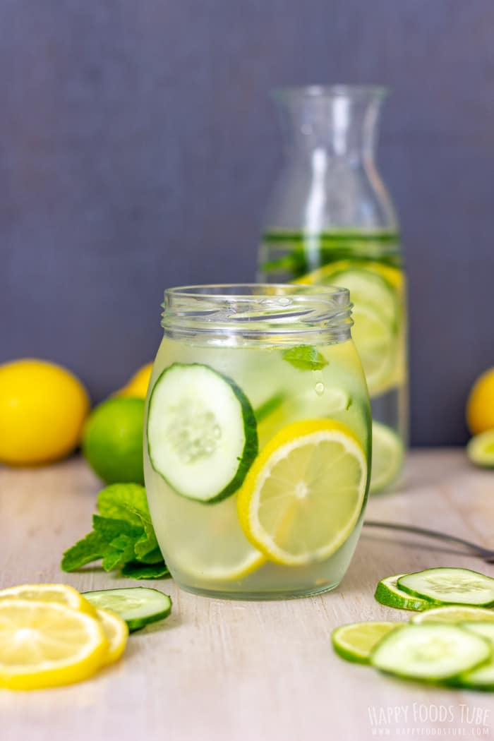Refreshing Lemon Lime Cucumber Water