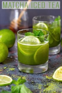 Matcha Iced Tea Recipe