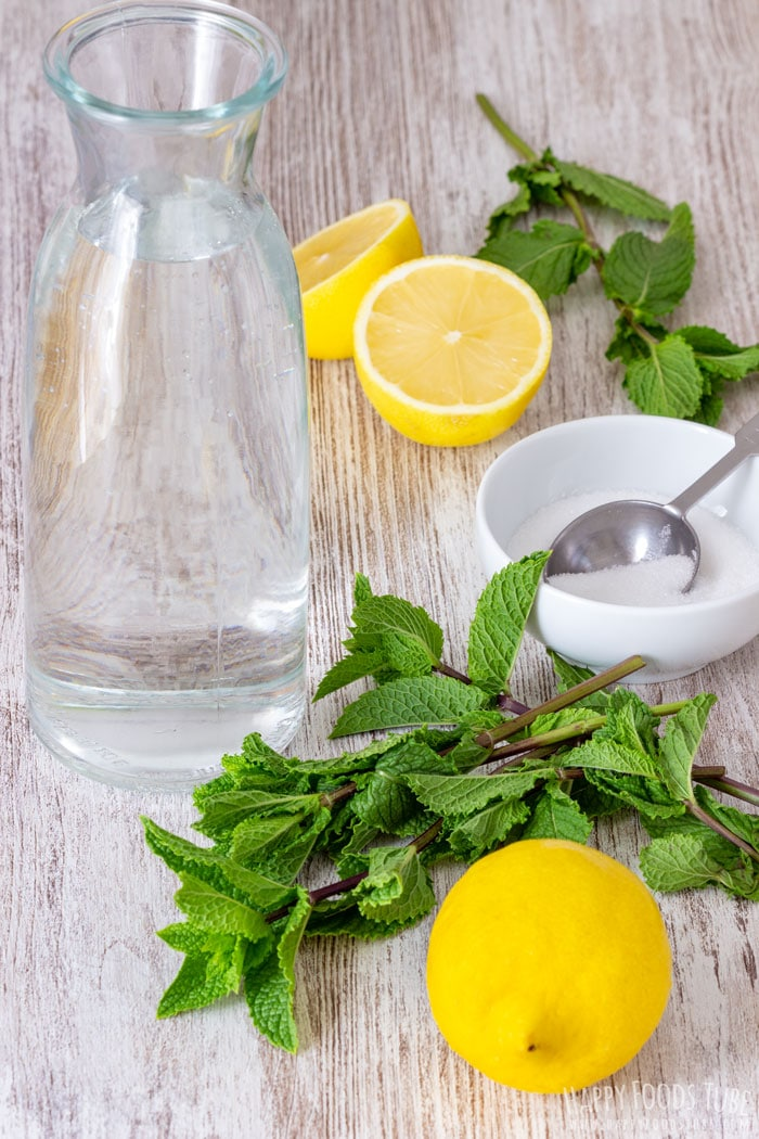 Mint Lemonade Ingredients