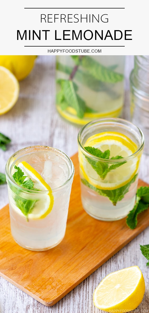 Refreshing Mint Lemonade Recipe