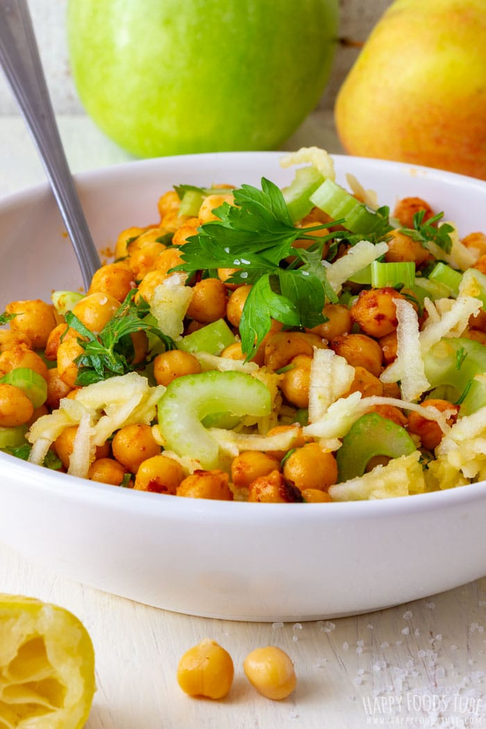 Apple Chickpea Salad Bowl