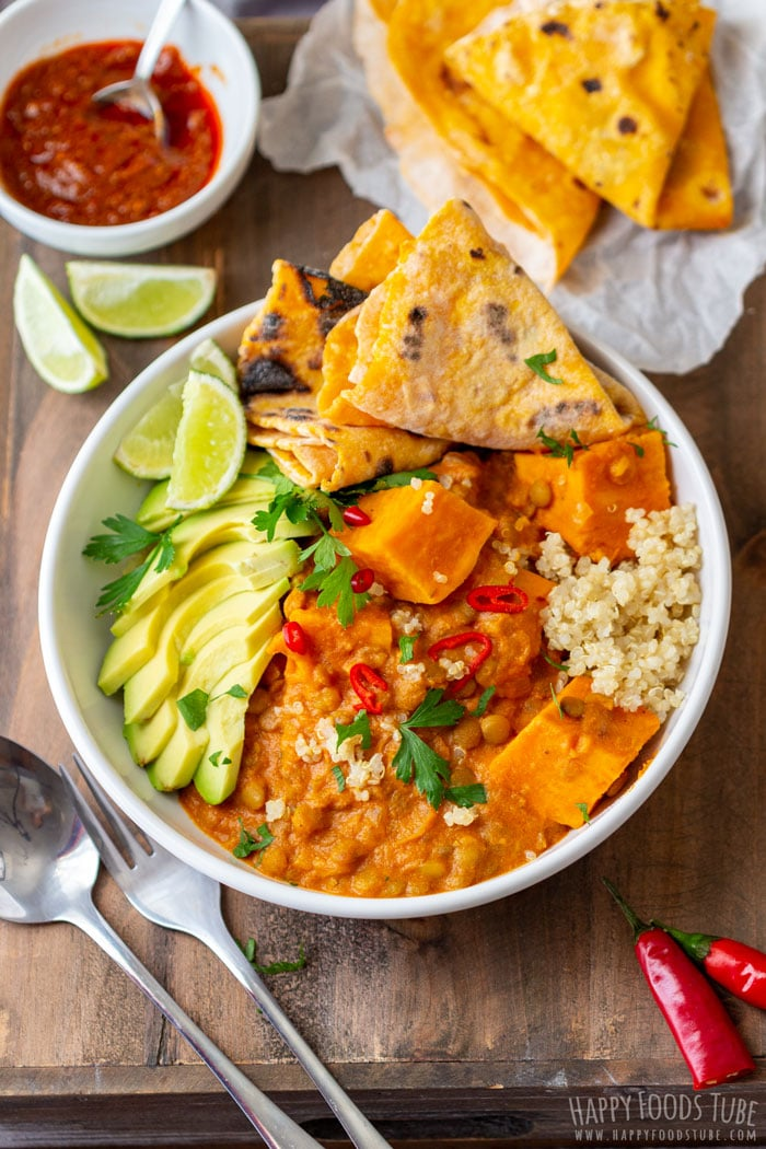 Instant Pot Sweet Potato Lentil Curry Pressure Cooker