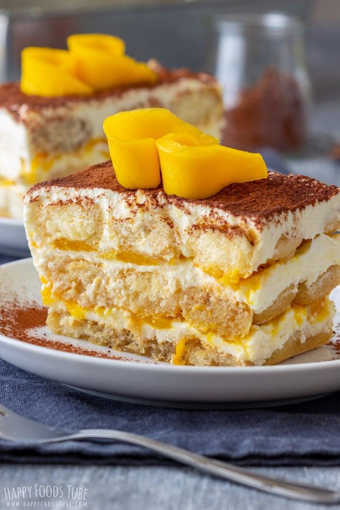 Mango Tiramisu Cake
