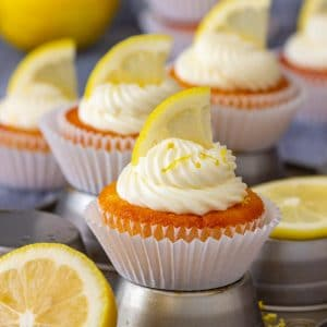 Homemade Easy Lemon Cupcakes