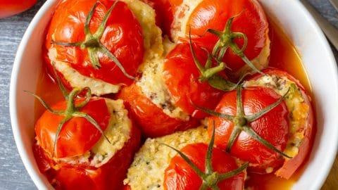 Instant Pot Stuffed Tomatoes