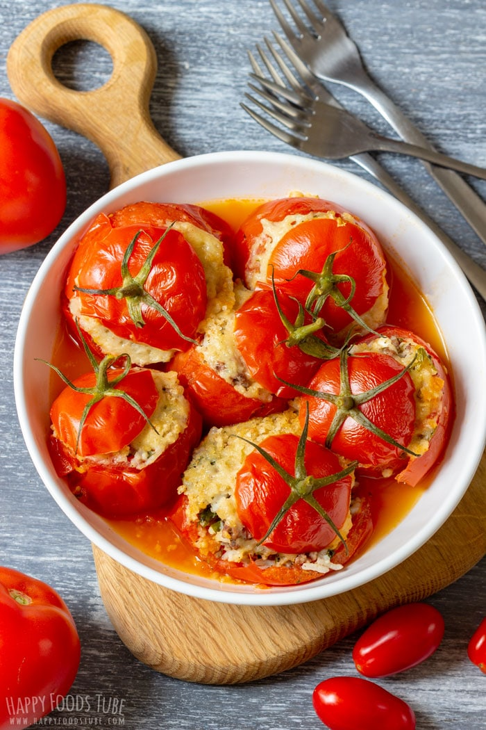 Instant Pot Stuffed Tomatoes