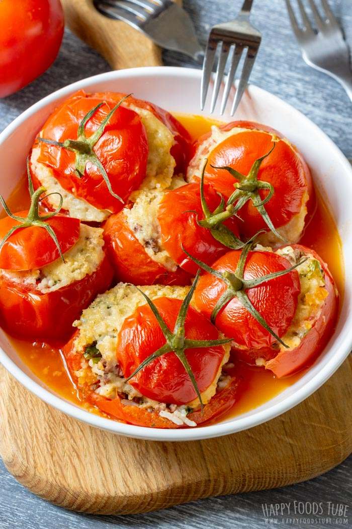 Instant Pot Stuffed Tomatoes with Cheese