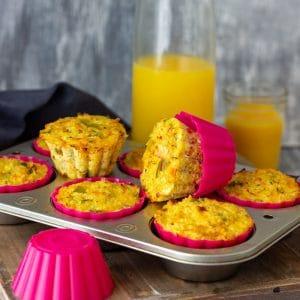 Homemade Quinoa Egg Muffins