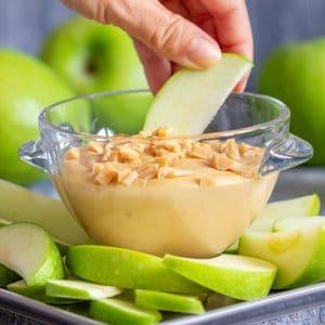 Homemade Caramel Apple Dip