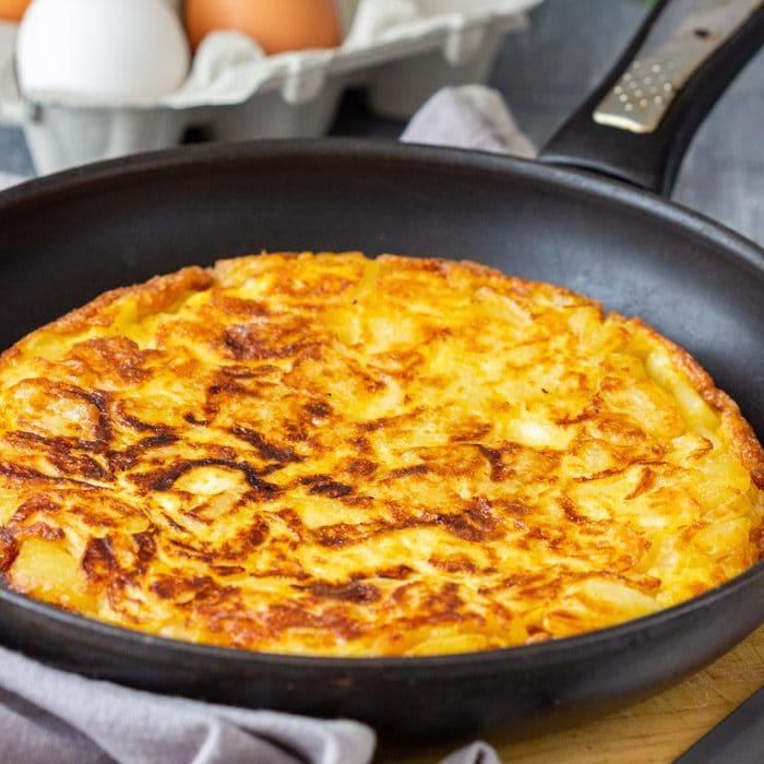 Traditional Spanish Omelette (Tortilla Espanola)