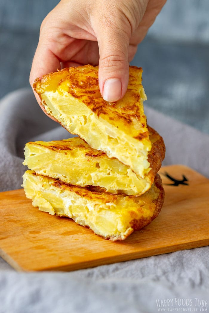 Spanish Omelette Slices