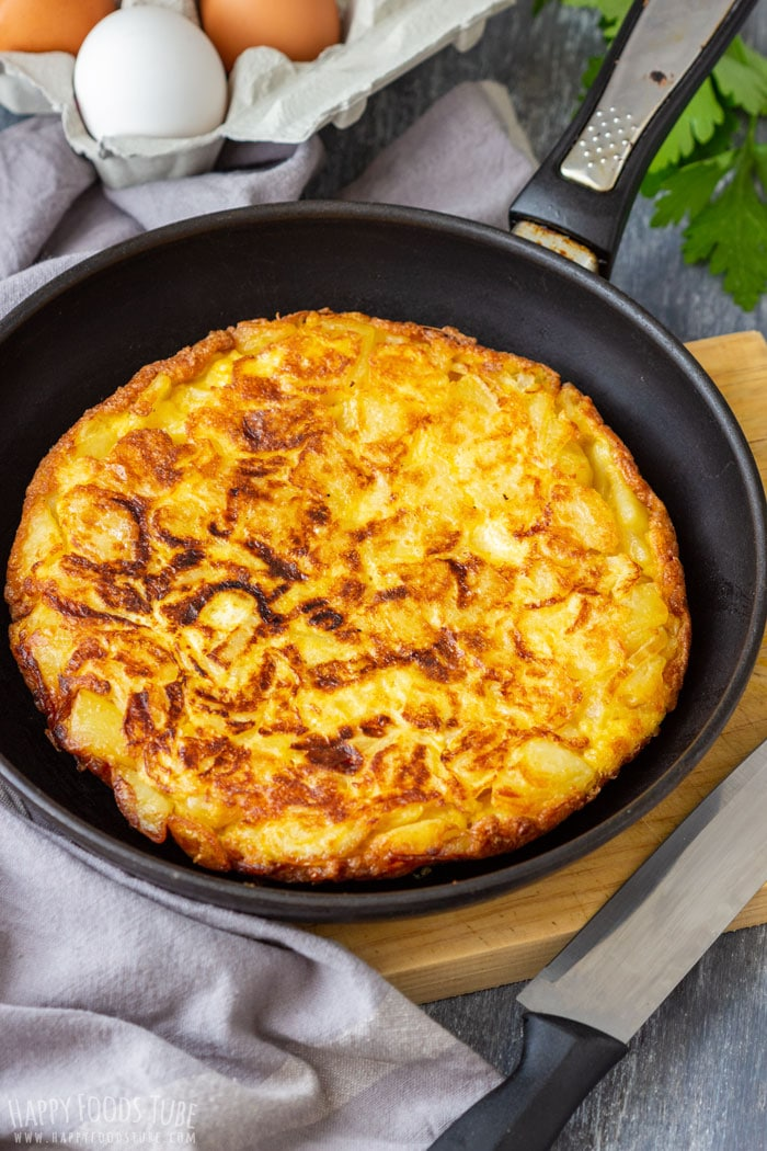 Homemade Traditional Spanish Omelette