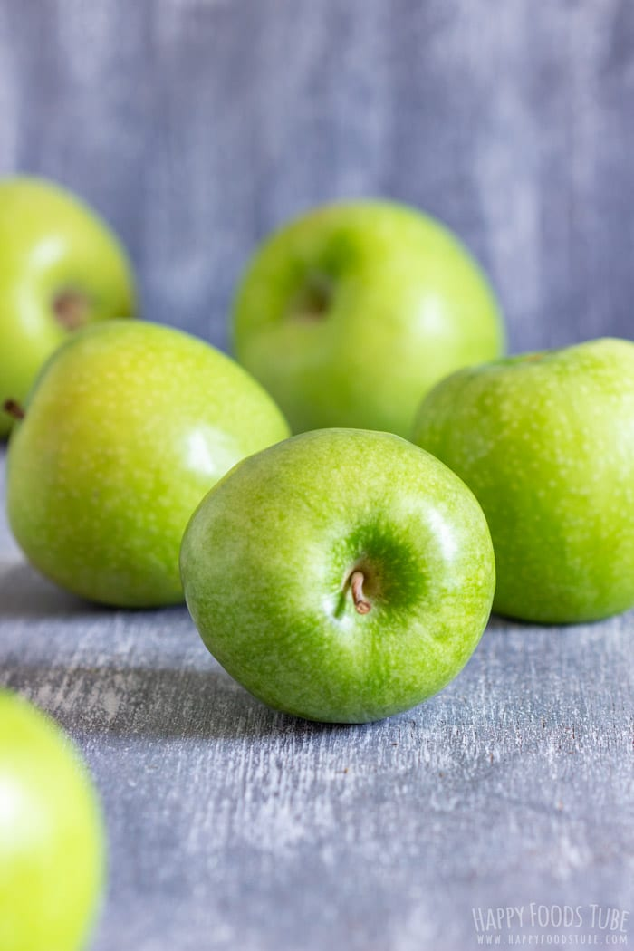 Green Apples for Caramel Apple Dip