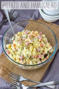 Creamy Potato and Ham Salad Recipe