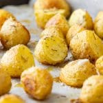 Rosemary Parmesan Roasted Potatoes