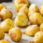 Rosemary Parmesan Roasted Potatoes Recipe