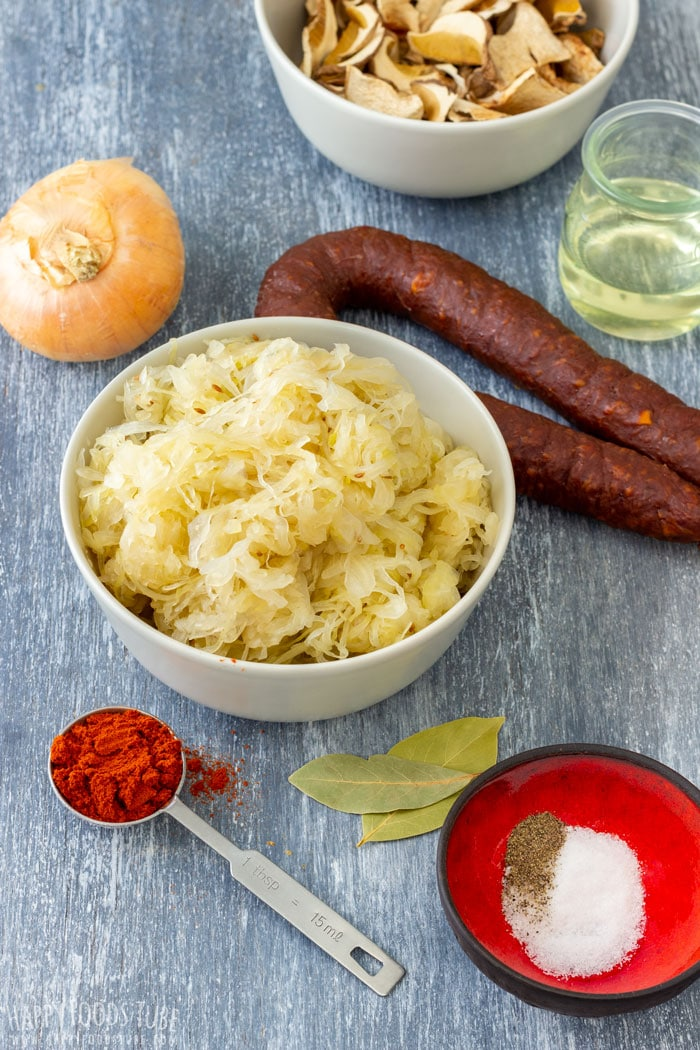 Sauerkraut Soup Ingredients