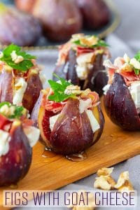 Figs with Goat Cheese Appetizer Recipe