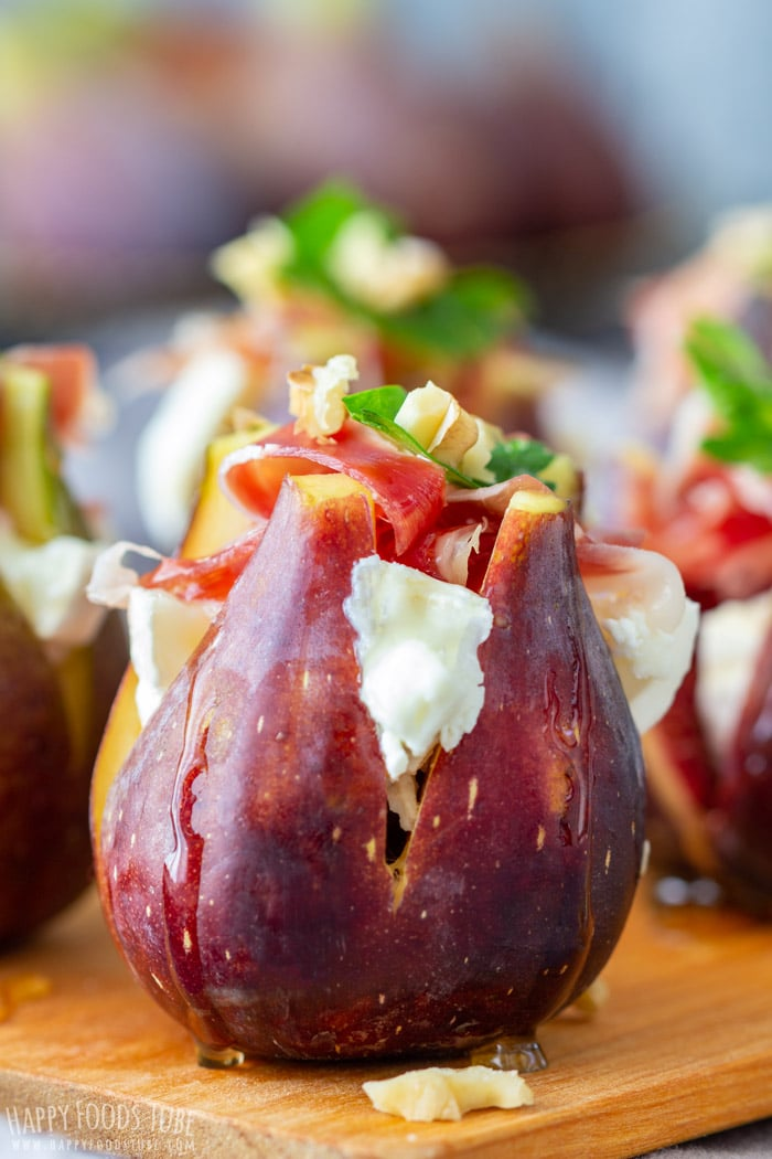 Figs with Goat Cheese Bite-Size Food