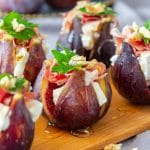 Figs with Goat Cheese Party Food
