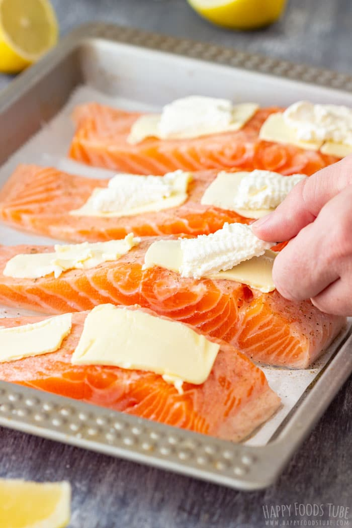 How to Make Oven Baked Salmon Fillets Step 1