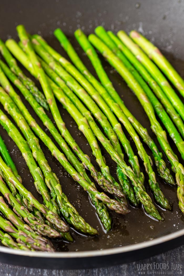 How to make Pan Fried Asparagus with Parmesan Step 2