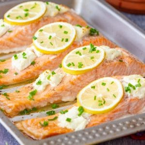 Easy Oven Baked Salmon Fillets