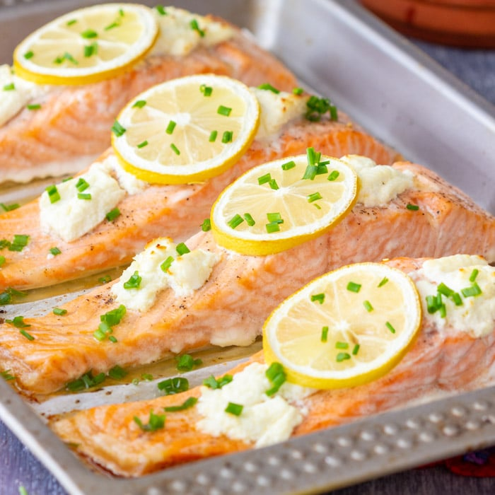 Best way to cook salmon steaks in oven
