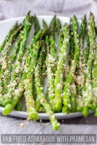 Pan Fried Asparagus with Parmesan Recipe