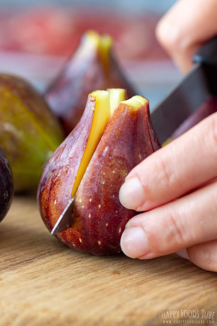 Cutting Figs for Party Appetizers
