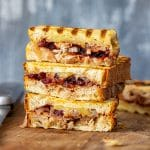 Turkey Cranberry Panini Sandwich Recipe
