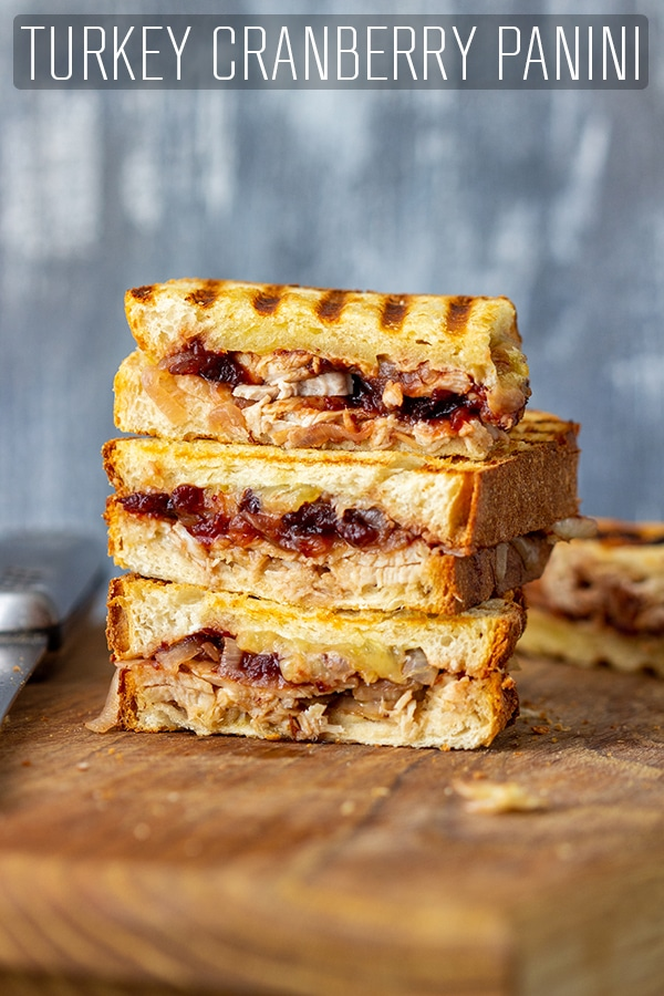 Turkey Cranberry Panini Sandwich Recipe