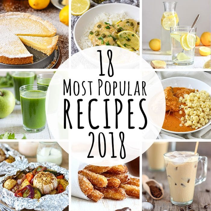 18 Most Popular Recipes of 2018