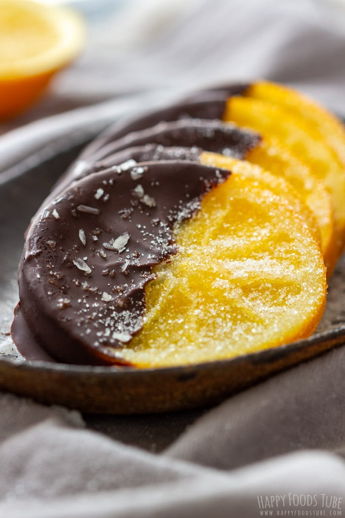 Best Candied Orange Slices Dipped in Chocolate