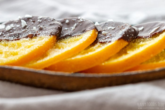 Gourmet Candied Oranges Dipped in Chocolate