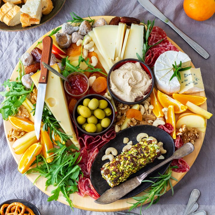 Cheese Board Happy Foods Tube