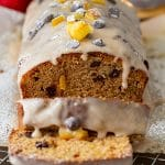 Gingerbread Loaf Recipe with Cinnamon Glaze