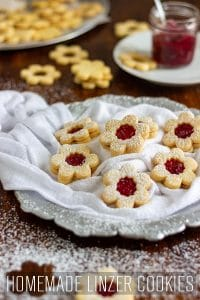 Homemade Linzer Cookies Recipe