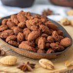 Homemade Spiced Cocoa Roasted Almonds Recipe