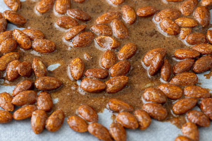 How to make Spiced Cocoa Roasted Almonds Step 4