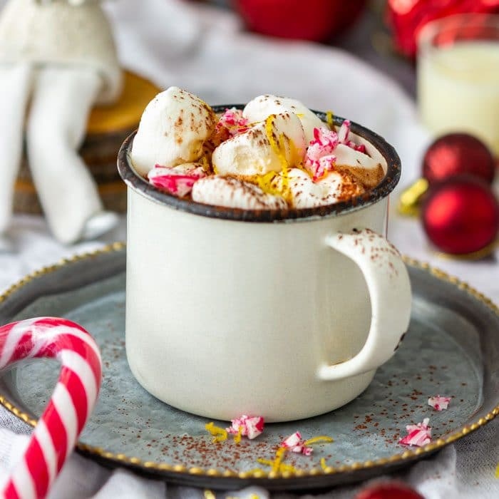 Crema di Limoncello Hot Chocolate Drink