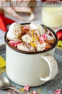 Crema di Limoncello Hot Chocolate Recipe