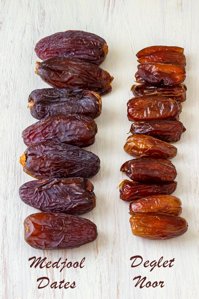 Medjool Dates and Deglet Noor