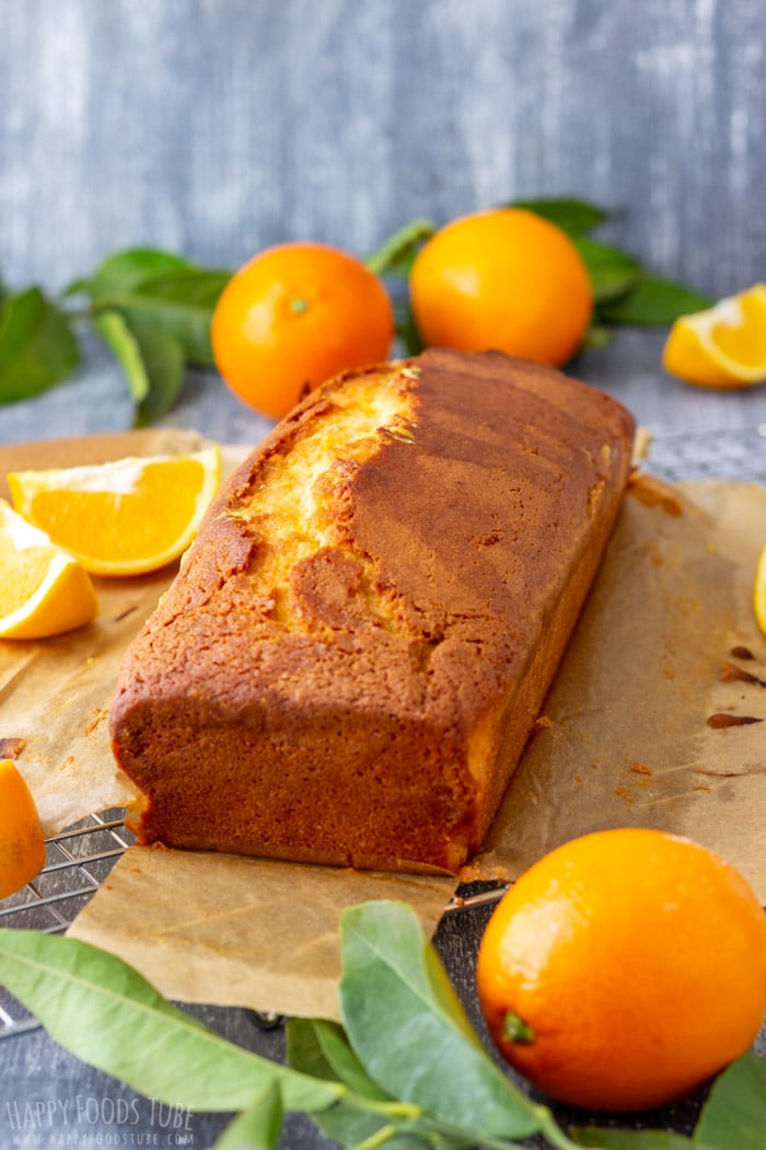 Orange Bread Loaf